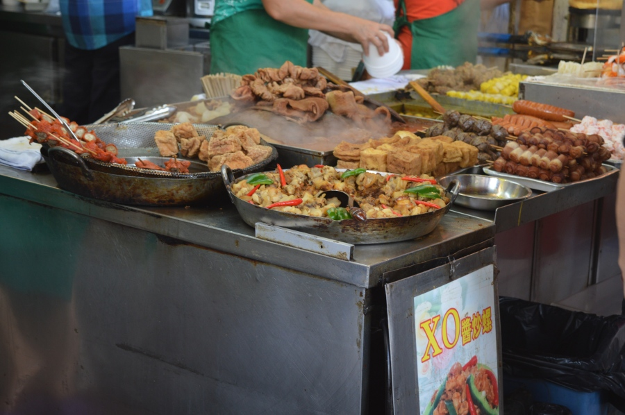 Street food in Mong Kok