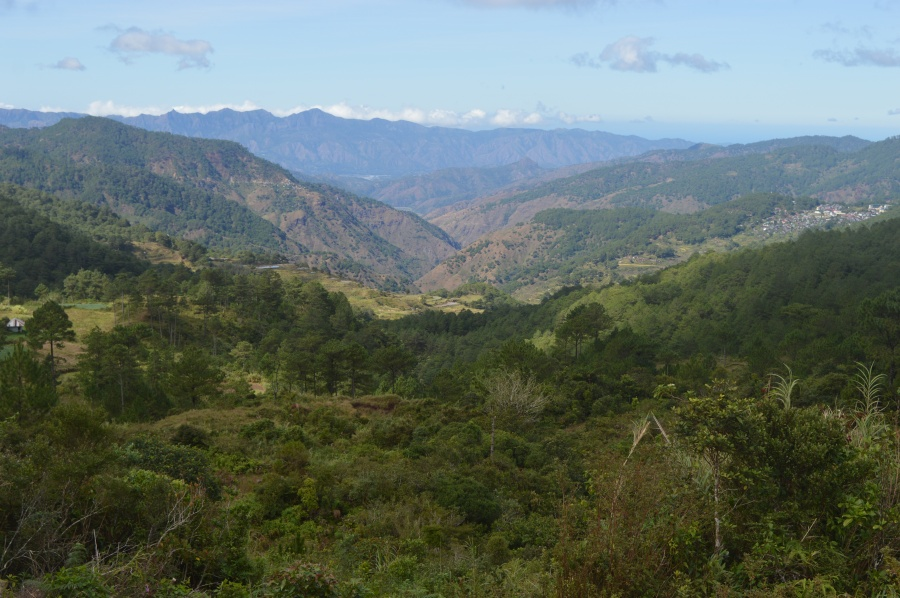 The view from Mt. Ampacao