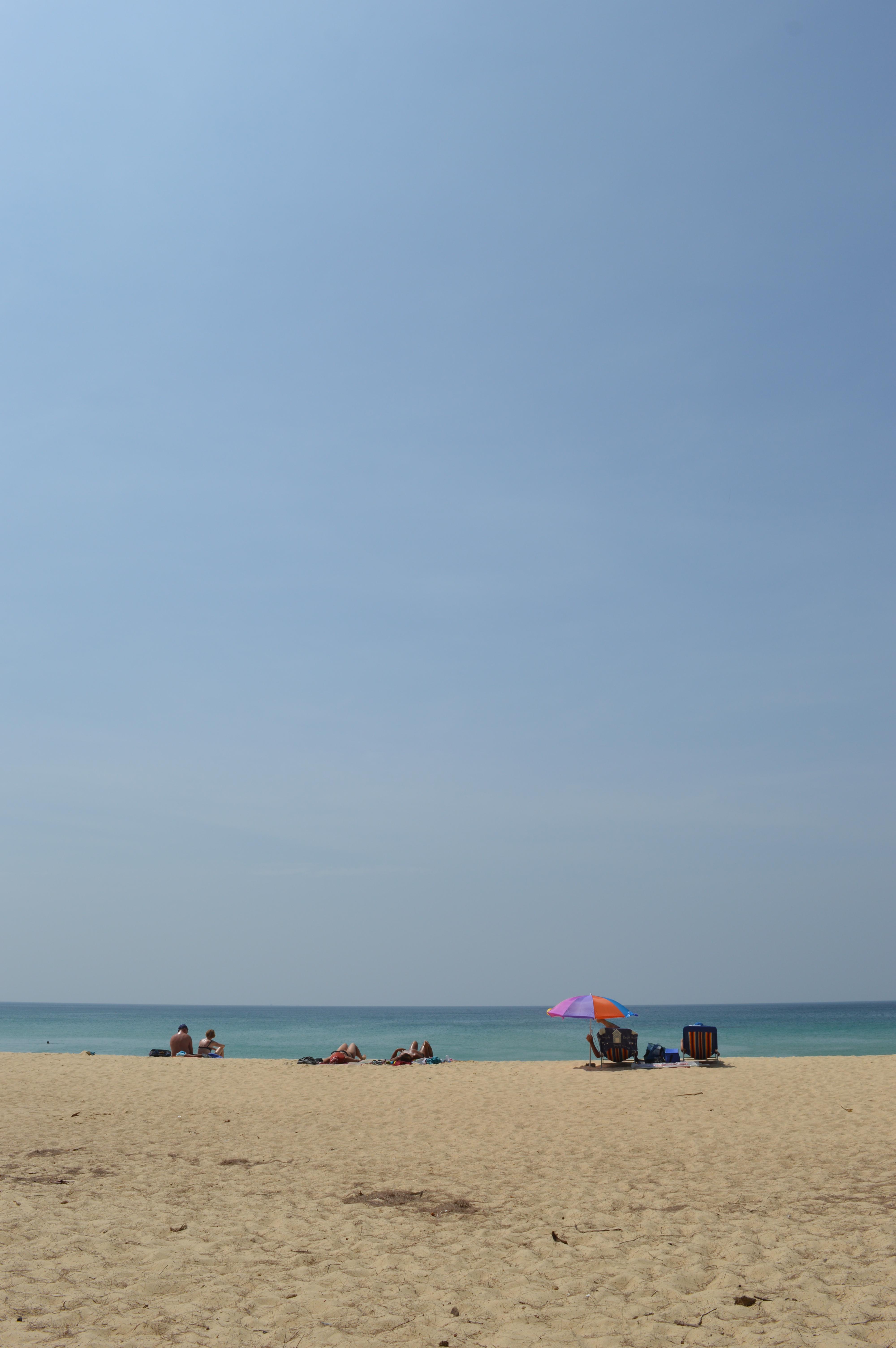 I'm definitely a beach person.