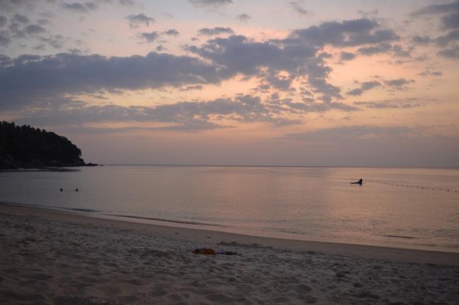 Beautiful Karon at sunset