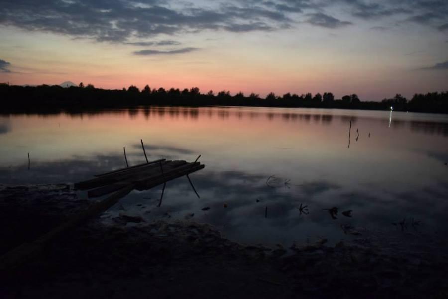 Sunset at Gili Meno lake